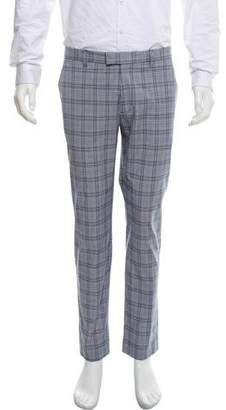 Etro Glen Plaid Casual Pants