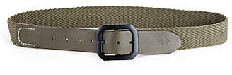 True Religion MENS WEBBING MILITARY BELT