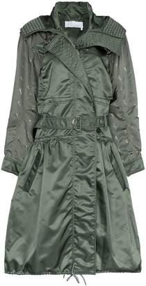 Chloé hooded parka coat