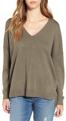 Women's Leith V-Neck Sweater $59 thestylecure.com