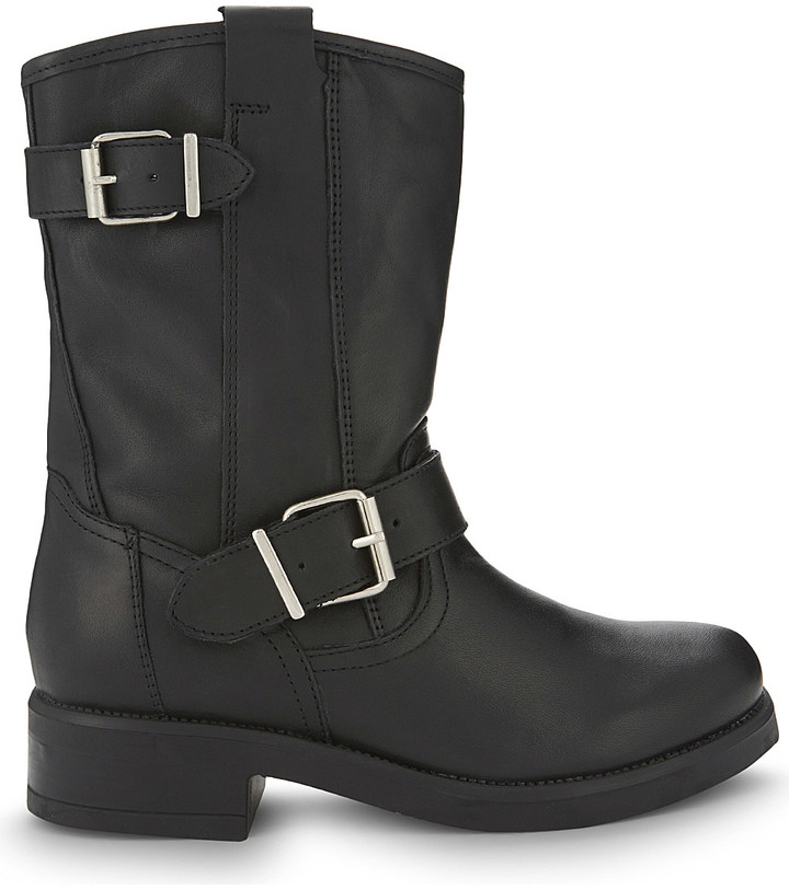 Aldo Aldo Iana leather biker boots