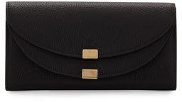 Chloé Chloe Georgia Leather Flap Wallet, Black
