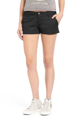 Women's Volcom 'Frochickie 2.5' Chino Shorts $20.98 thestylecure.com
