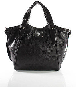 Marc By Marc Jacobs Marc By Marc Jacobs Brown Black Snakeskin Print Detachable Strap Shoulder Handba