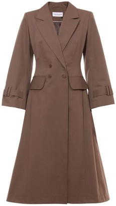 Talented A Line Coat Khaki