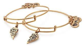 Alex and Ani Best Friends Expandable Wire Bangles, Set of 2