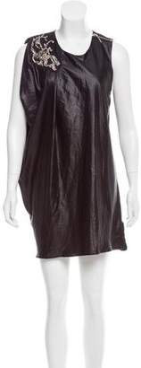 Poleci Embellished Draped Dress