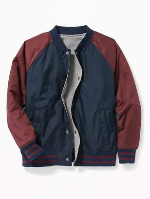 Old Navy Reversible Bomber Jacket for Boys