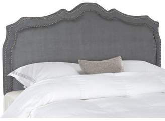 Safavieh Skyler Headboard with Nailheads, Available in Multiple Color and Sizes