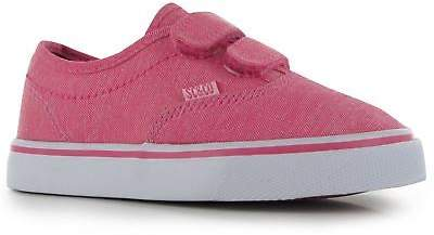 SoulCal Kids Sunset Strap Infant Trainers Shoes Hook and Loop Stitched Detailing