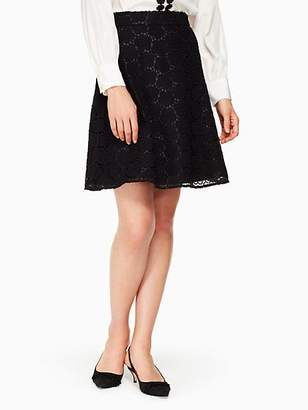 Kate Spade Bloom flower lace skirt