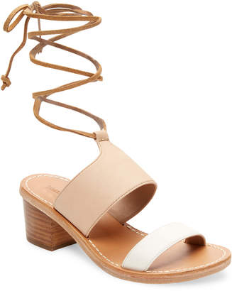 Soludos Leather Ankle-Strap Sandal