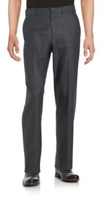 Dockers Straight-Fit Flat-Front No Iron Dress Pant