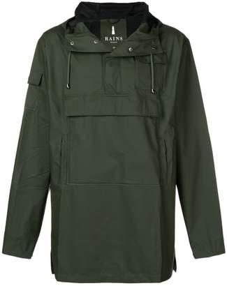 Rains hooded windbreaker jacket