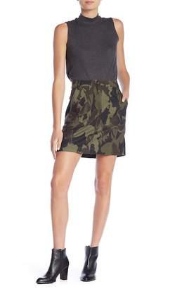Joe Fresh Camo Print Skirt
