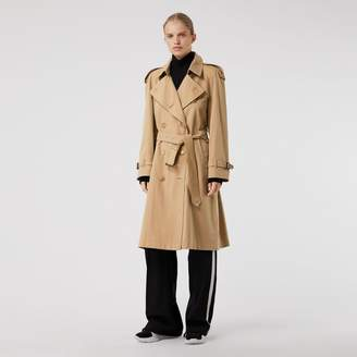 Burberry The Westminster Heritage Trench Coat , Size: 08, Beige
