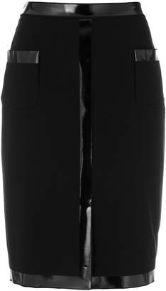 Moschino vinyl embellished pencil skirt