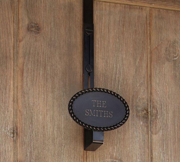 Pottery Barn Rustic Rope Adjustable Door Wreath Hanger