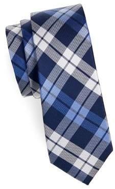 Lauren Ralph Lauren Boy's Plaid Slim Silk Tie