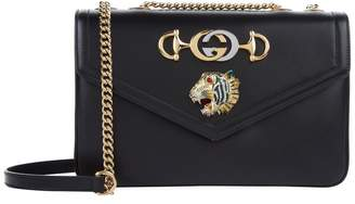 Gucci Leather Tiger Bag