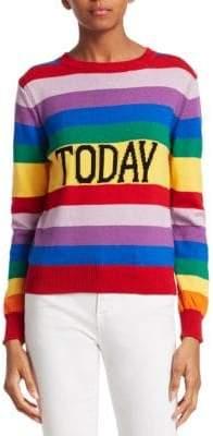 Alberta Ferretti Rainbow Today Sweater