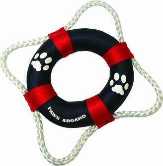 Fido Pet Products Paws Aboard 2400 Life Ring Toy