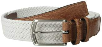 Torino Leather Co. 32MM Italian Woven Multi Cotton Elastic Men's Belts