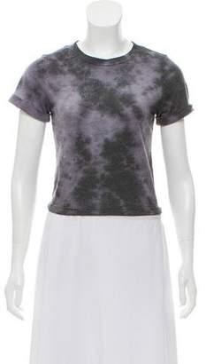 Alice + Olivia Tie-Dye Short Sleeve Top