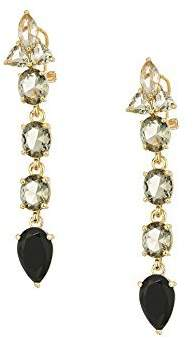 Vince Camuto Women's Stone Linear Earrings