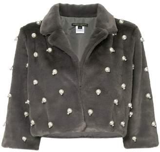 Alberto Makali cropped embellished jacket