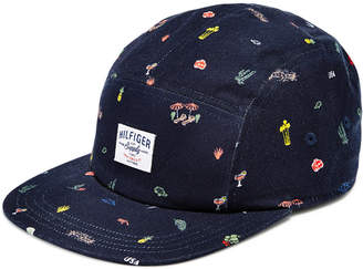 Tommy Hilfiger Men's 5 Panel Tropical Embroidered Hat, Created for Macy's