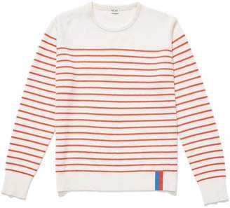 Kule The Sophie Sweater in Cream/Red