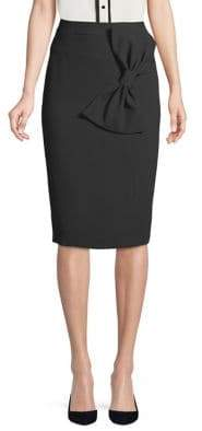Eliza J Bodycon Bow Skirt