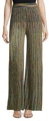 M Missoni Striped Multicolor Lurex Pants
