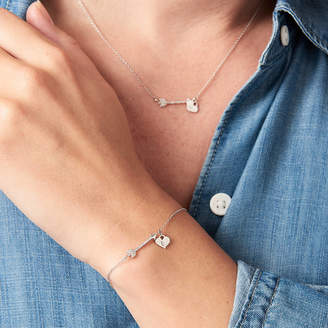 Claudette Worters Arrow Necklace Personalised Diamond Necklace