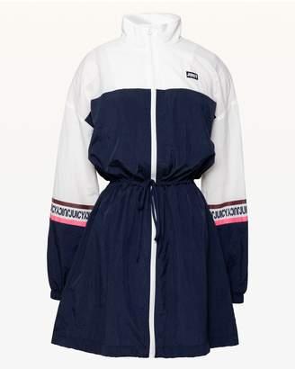 Juicy Couture JXJC Colorblock Nylon Mock Neck Dress