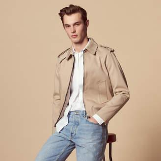 Sandro Harrington-style zipped jacket