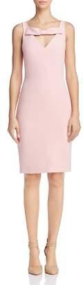 Moschino Bow-Detail Sheath Dress