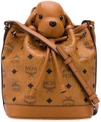 MCM Dog bucket bag