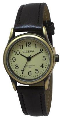 Crepha (クレファー) - [クレファー]CREPHA 婦人用腕時計 アナログ表示 5気圧防水 アイボリー TEV-1277-CHG レディース