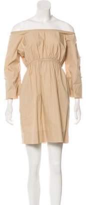 Malia Mills Pleated Mini Dress