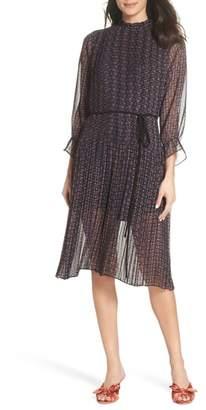 Sam Edelman Chiffon Peasant Dress