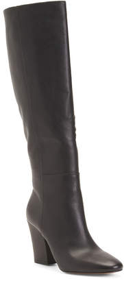 Kenneth Cole New York High Shaft Leather Boots
