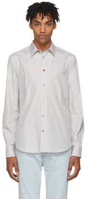 Paul Smith Grey Charm Button Shirt