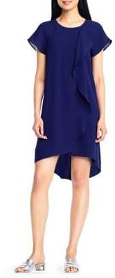 Adrianna Papell High-Low Shift Dress
