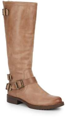 Ella Leather Boots $169 thestylecure.com