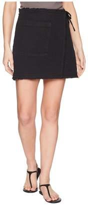 Splendid Faux Wrap Skirt Women's Skirt