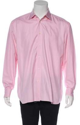 Borrelli Woven Dress Shirt