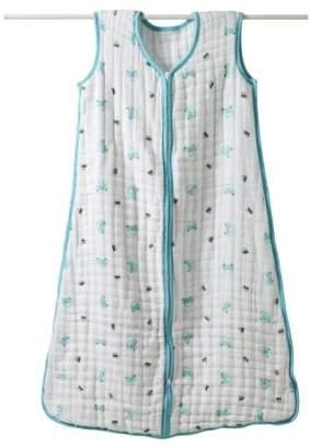 Aden Anais (エイデン アネイ) - aden + anais (エイデンアンドアネイ) 【日本正規品】 モスリンコットン 厚手スリーパー little man - cars cozy sleeping bag - small-1014