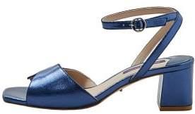 Violeta BY MANGO Metallic heel sandals